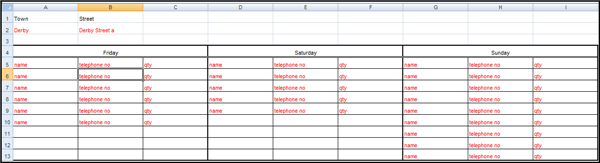 Excel Report 2