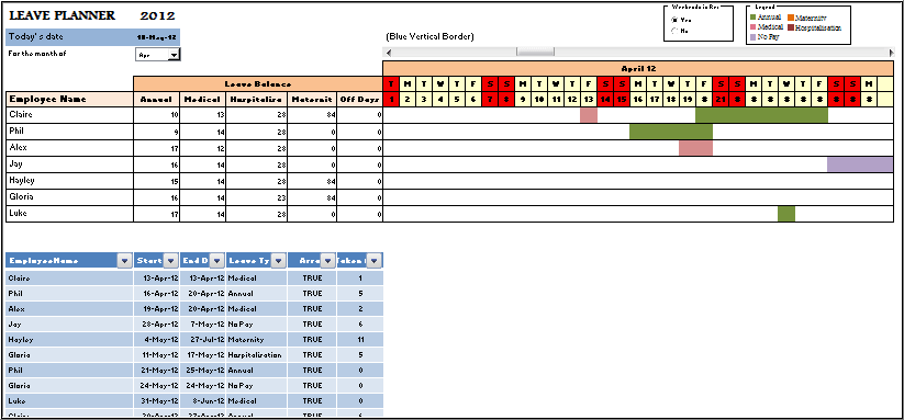 preview leave planner
