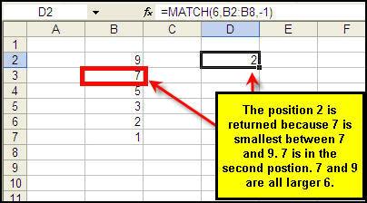 match-formula-close-value-descending-order