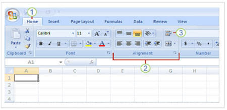home_ribbon_in_excel_2007