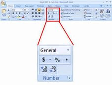 screenshot_home ribbon_number_format